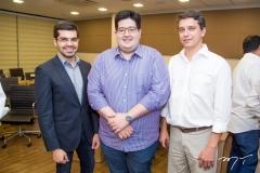 Pedro Garcia, Yuri Torquato e André Siqueira
