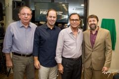 Ricardo Cavalcante, César Ribeiro, Beto Studart e Élcio Batista