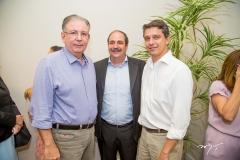 Ricardo Cavalcante, Paulo André e André Siqueira