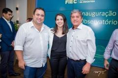 Ricardo Dreher, Edivânia Brilhante e Sampaio Filho