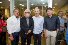 Sampaio Filho, Joaquim Cartaxo, Lauro Oliveira e Edgar Gadelha