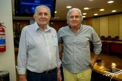 Carlile Lavor e Luis Fernando Pessoa