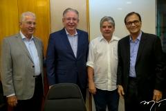 Carlos Prado, Ricardo Cavalcante, Chico Esteves e Beto Studart