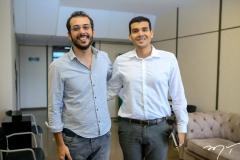 Guilherme Muchale e Antonio Martins