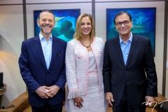 Luciano Coutinho, Gianna Sagazio e Beto Studart