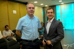 Márcio Mamede e Pablo Padilha