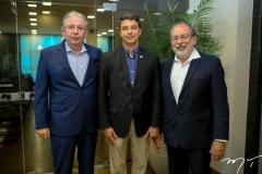Ricardo Cavalcante, André Siqueira e Francisco Nepomuceno