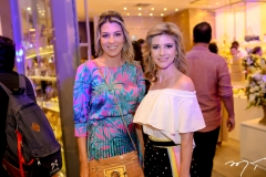 Adriane Lopes e Clarissa Lener