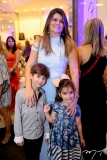 Arthur, Michele e Letícia Pinheiro