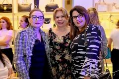Auriene Pinto, Sandra Sampaio e Andrea Carvalho