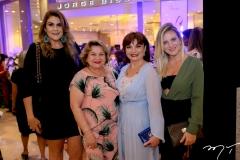 Erica Gurgel, Walkira Chaves, Chris Leite e Raquel Carioca
