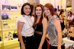 Guiomar Feitosa, Lorena Pouchain e Liliana Farias