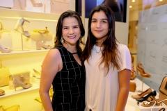 Luzia Fujita e Amanda Wanderley