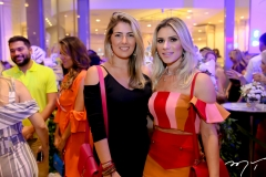 Melina Dias e Patrícia Jereissati
