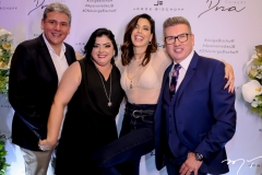 Tobias Barreto, Viviane Almada, Camila Coutinho e Jorge Bischoff