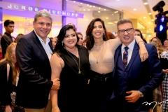 Tobias Barreto,Viviane Almada, Camila Coutinho e Jorge Bischoff