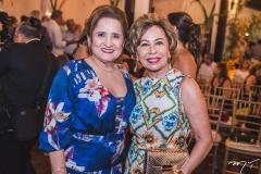 Auricélia Queirós e Tane Albuquerque