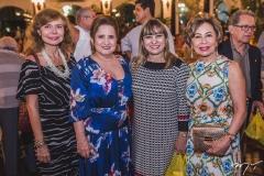 Eveline Freitas, Auricélia Queirós, Lucrécia Araújo e Tane Albuquerque