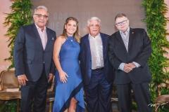 Geraldo Gadelha, Patriciana Rodrigues, Deusmar Queirós e Juarez Leitão
