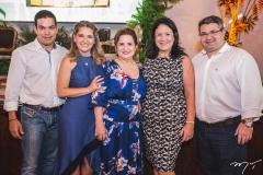 Cacá, Patriciana, Auricelia, Rosilandia e Mario Queiros