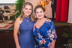 Patriciana Rodrigues e Auricelia Queirós