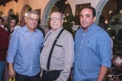 Paulo César Norões, Edson Ventura e Teco Rocha