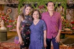 Carla Brasil, Marly e Magno Nogueira