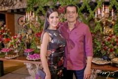 Carla Brasil e Magno Nogueira