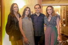 Isabela, Natalia, Etevaldo e Roberta Nogueira