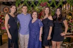 Lara e Helano Pinheiro,Marly,Silvana e Caroline Nogueira (2)