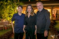 Leonardo e Rosely Nogueira e Aroldo Nogueira
