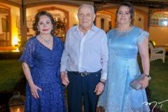 Marly Nogueira, Adauto e Silvana Bezerra