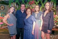 Natalia,Etevaldo,Marly,Roberta e Isabel Nogueira