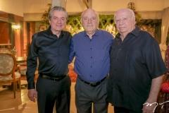 Nelson e Jaime Pinheiro e Claudio Figueredo