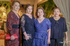 Noelia e Marta Pinheiro, Marly Nogueira e Marlis Figueredo
