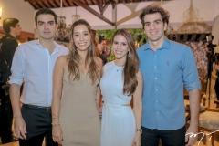 Rodrigo Nogueira, Manoela Melo,Manoela Rolim e Rafael Nogueira