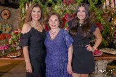 Silvana, Marly e Caroline Nogueira