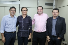 Alexandre Pereira, Hélio Perdigão, Roberto Romero e Sérgio Lopes