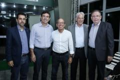 Aloisio Neto, Alexandre Pereira, André Montenegro, Carlos Prado e Ricardo Cavalcante