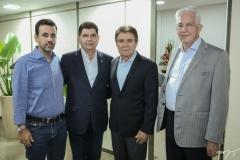 Aloisio Neto, Mauro Benevides, Jorge Parente e Carlos Prado