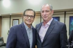 Beto Studart e Ciro Gomes