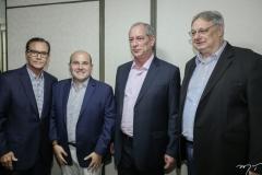 Beto Studart, Roberto Cláudio, Ciro Gomes e Moroni Torgan