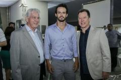 Carlos Prado, Júnior e Carlos Fujita