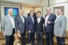 Carlos Prado, Candido Albuquerque, Beto Studart, Jorge Parente, Ciro Gomes e Leonidas Cristino