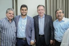Chico Esteves, Davi Benevides, Ricardo Cavalcante e Roberto Sérgio