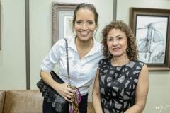 Giselle Bezerra e Luiza Serpa