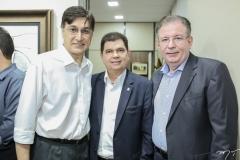 Hugo Figueiredo, Mauro Benevides e Ricardo Cavalcante