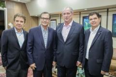 Jorge Parente, Beto Studart, Ciro Gomes e Mauro Filho