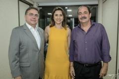 Leonidas e Lili Cristino e Paulo Holanda