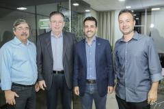 Roberto Sérgio, Ricardo Cavalcante, Aloisio Neto e Danilo Serpa